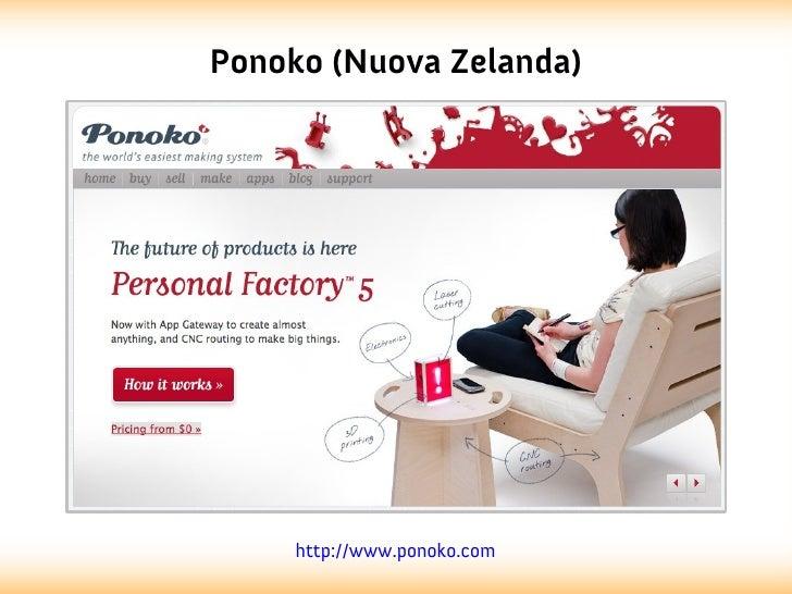 Ponoko (Nuova Zelanda)     http://www.ponoko.com