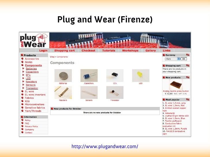 Plug and Wear (Firenze)   http://www.plugandwear.com/