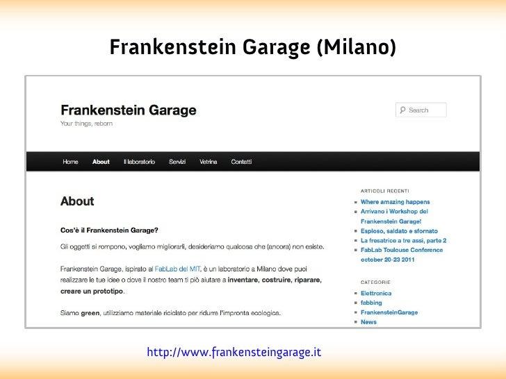 Frankenstein Garage (Milano)   http://www.frankensteingarage.it