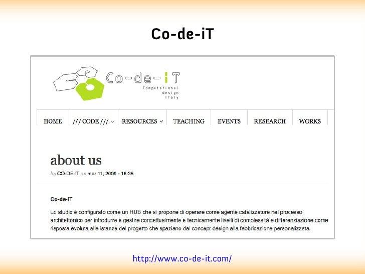 Co-de-iThttp://www.co-de-it.com/