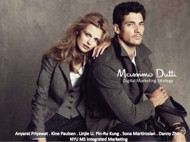 massimo dutti marketing analysis Vs h&m vs zara comparing marketing strategies by:  swot analysis 15 marketing mix  inditex operates over 4,350 stores worldwide with brands like massimo dutti.