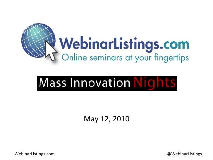 May 12, 2010
