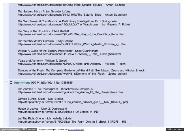 Massive paranormal dump anonymous boards 4chan