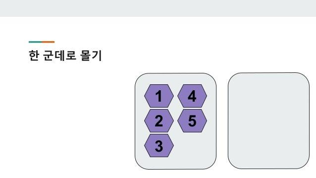 2로 나누는게 아니라 3으로 나눠야 하면? 1 2 3 4 5