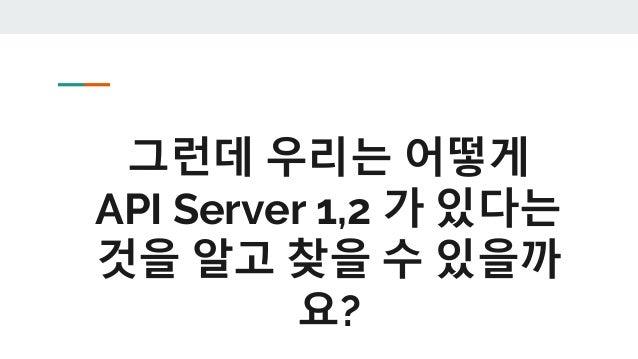가설 2 : 사용자는 대표 주소 하나만 알고 우리가 알아 서 나눠준다. Web Browser Mobile Apps API Server 1 1.1.1.3 API Server 2 1.1.1.4