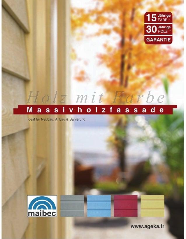 Ideal für Neubau, Anbau & Sanierung                                      www.ageka.fr