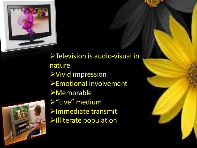 emergence of television as a mass The information distributed to people on a large scale through the use of television, radio, movies, newspapers, internet, magazines and books is termed as mass media.