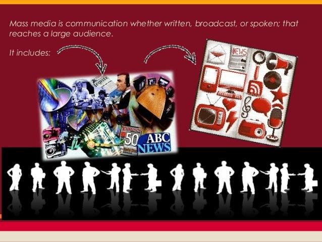 Mass media and its evolution Slide 3