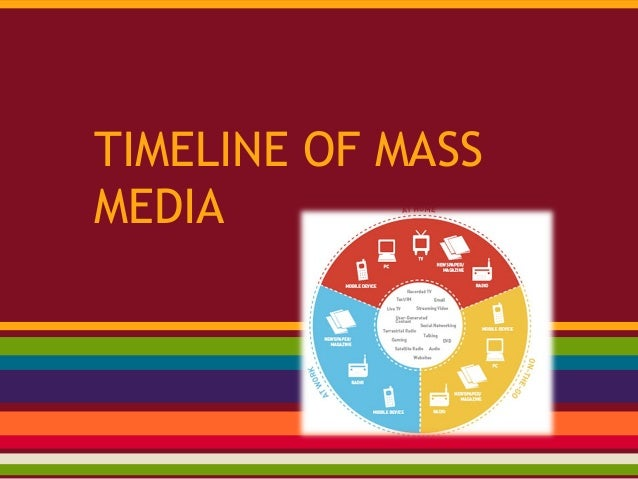 essays on evolution of mass media Optional midterm essay prompt: how has the rise of mass media had an   answer the question with one specific possible effect which is observable in  history.
