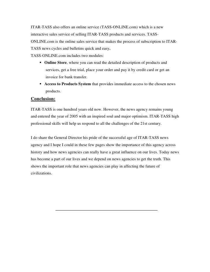 Mass media term paper