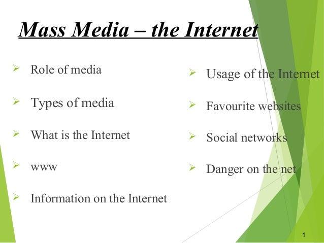 mass media internet