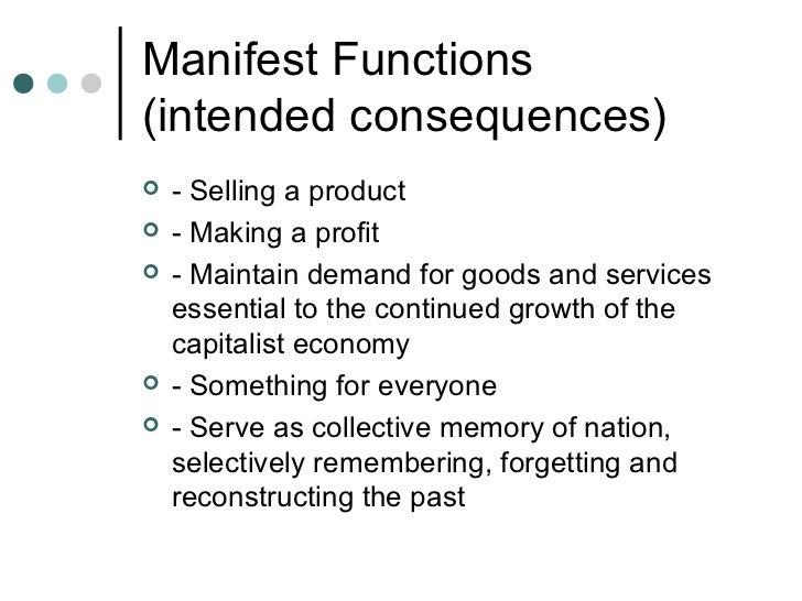 manifest function