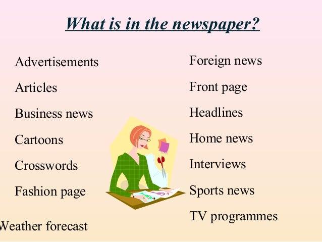 Mass Media Newspapers Magazines