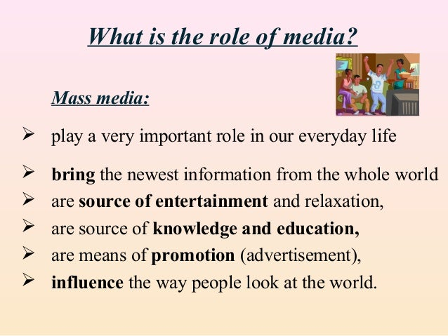 mass media in general and newspapers Vocabulary terms - mass media, ch 7 learn with flashcards, games, and more — for free.