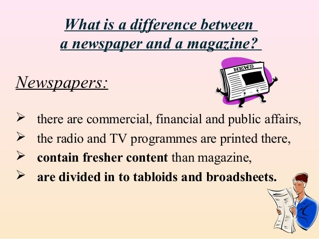 compare newspaper and television Advantages / disadvantages of watching television hope someone kind will read my essay and fix my grammatical errors nowadays, television has become the most popular media of human kind.