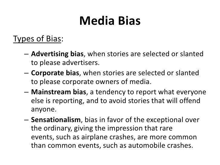 Mass media public opinion – Bias Worksheet