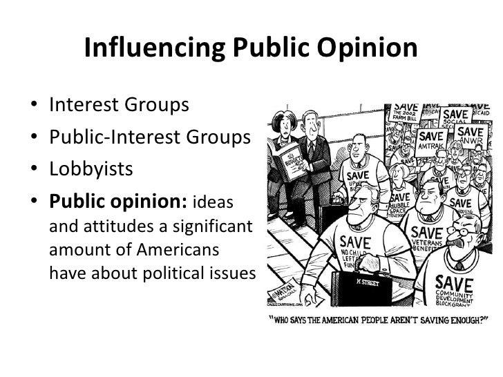 Mass media and public attitude to