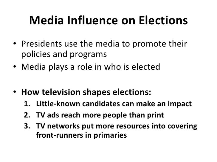 media influence public policy