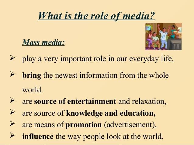 role of social media in education pdf