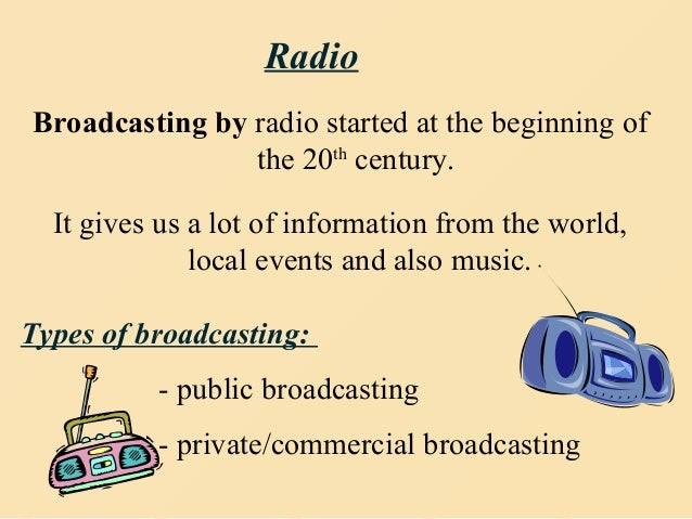 radio and television mass media Mass media is a term used to denote a section of the media specifically  of  news and entertainment across media such as newspapers, television, radio,.