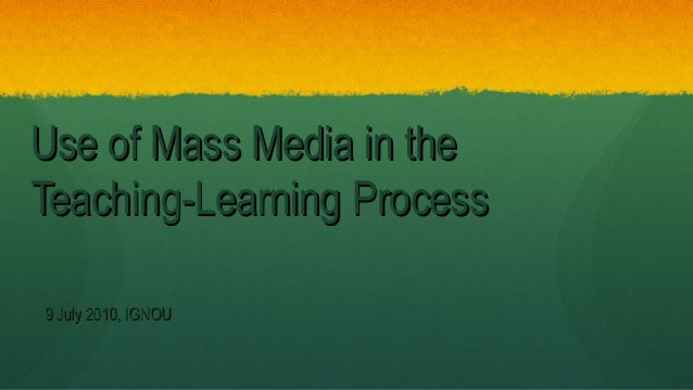 learning from mass media campaigns for Media effects theories cultivation theory developed by george gerbner central claim: persistent long term exposure to tv content has small but measurable effects on the perceptual worlds.