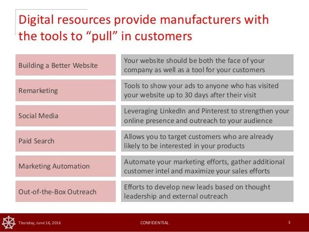 Impactful Tactics for Manufacturers  Slide 3