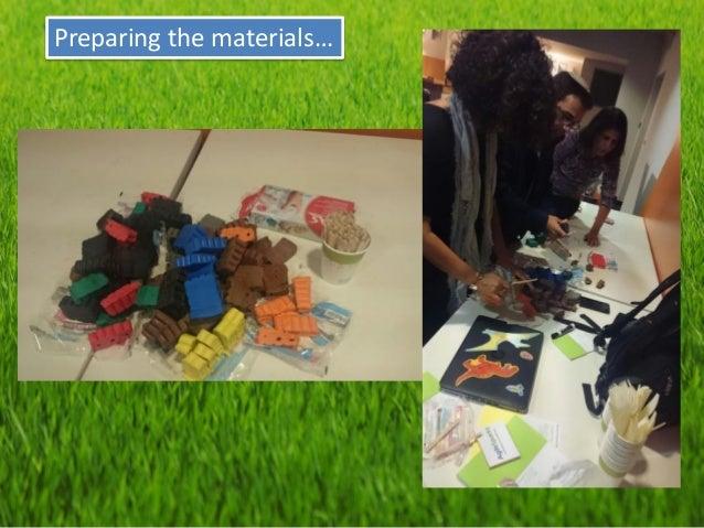 Preparing the materials…