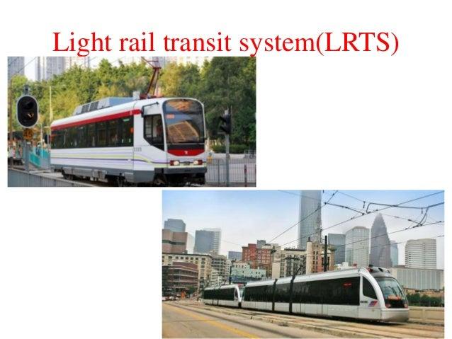 Light rail transit system(LRTS)
