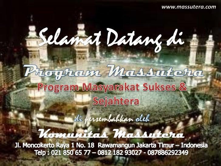 Visi• Mewujudkan Kehidupan Keluarga  Indonesia menjadi semakin Sukses,  Semakin Sejahtera dan Semakin  Makmur.• Mewujudkan...