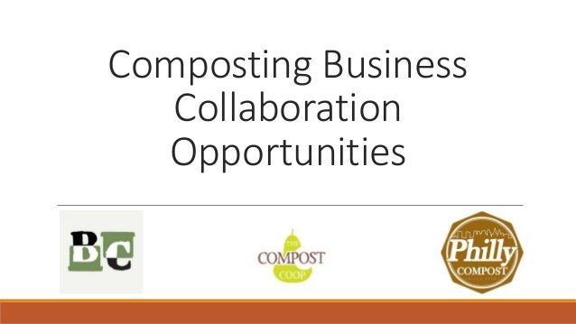 Composting Business Collaboration Opportunities