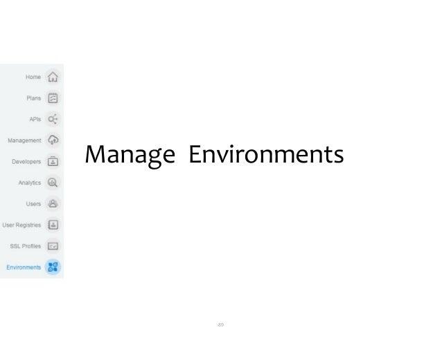 89 Manage Environments
