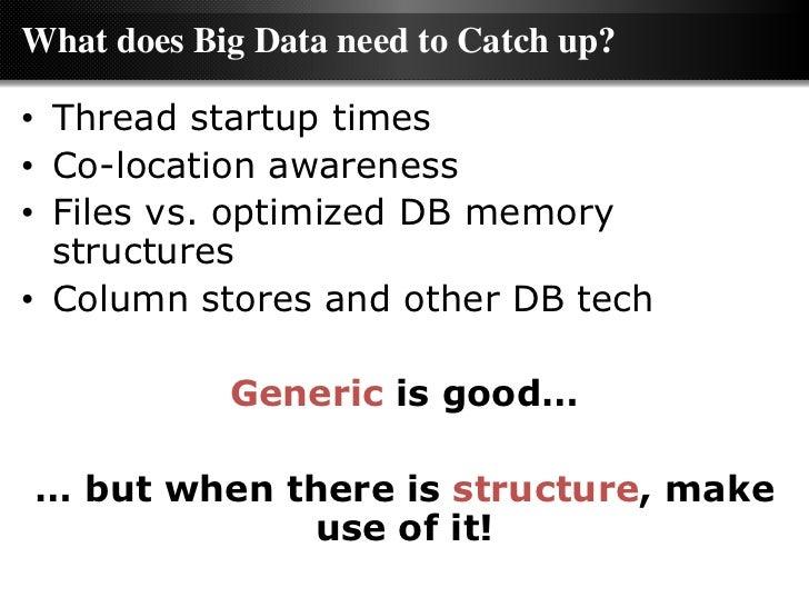 Big Data vs Data Warehousing