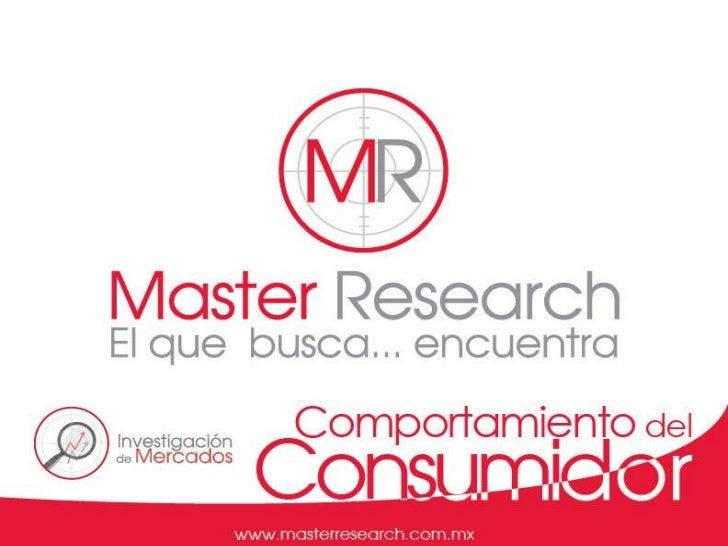 DescripciónEs un estudio de mercado que mide el comportamiento delconsumidor de una categoría de producto.La investigación...