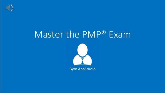 Master the PMP® Exam Byte AppStudio
