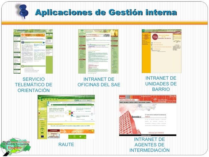 Nuevas tecnolog as en el servicio andaluz de empleo for Oficina del sae