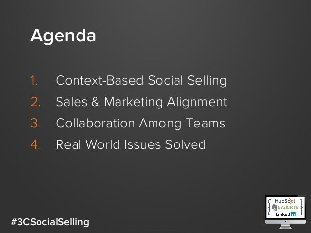 Master The 3 C's Of Social Selling: Context, Content, & Collaboration Slide 3