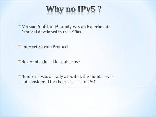 Internet protocol essay