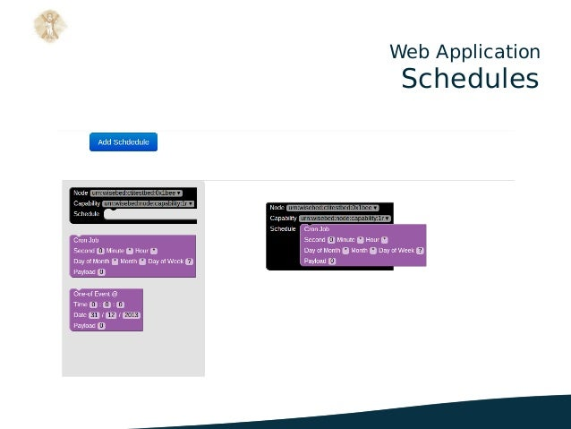 Web Application Schedules .