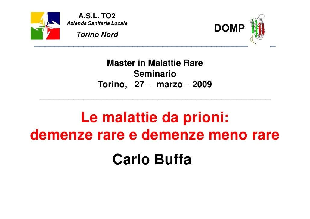 A.S.L. TO2       Azienda Sanitaria Locale                                       DOMP          Torino Nord ________________...
