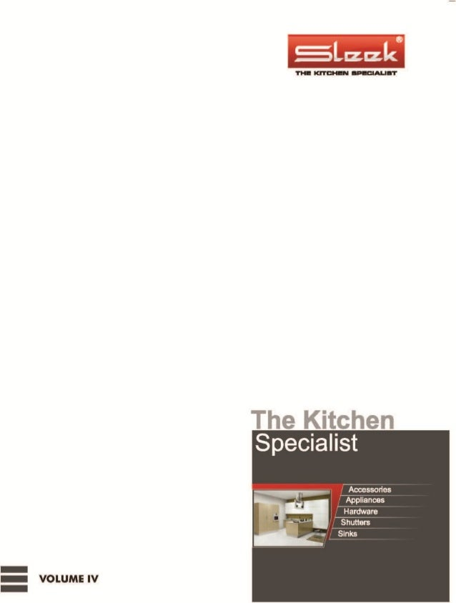 SLEEK MODULAR KITCHEN CATALOG 2014