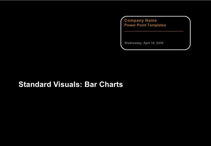 Standard Visuals: Bar Charts