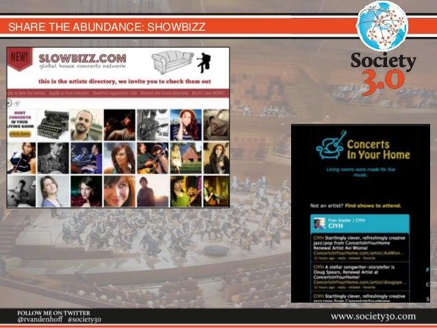 SHARE THE ABUNDANCE: SHOWBIZZ
