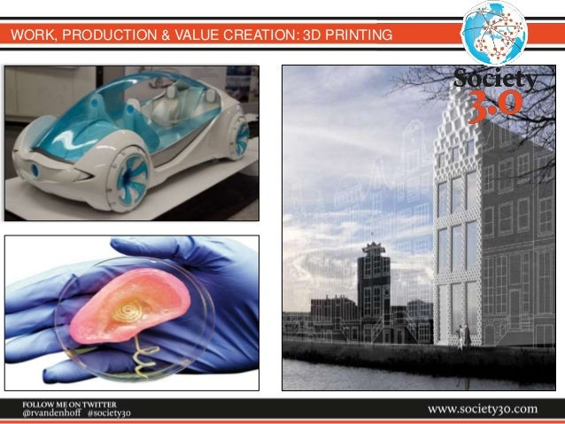 WORK, PRODUCTION & VALUE CREATION: 3D PRINTING