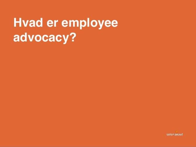 Hvad er employee advocacy?