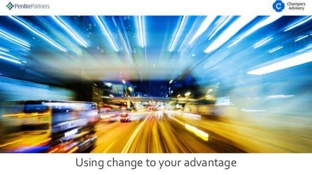 Using change to your advantage