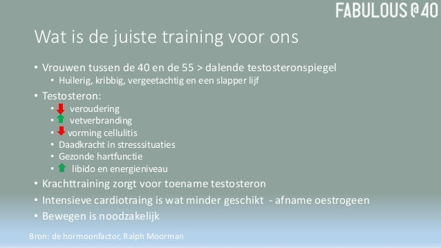 hormoonfactor training