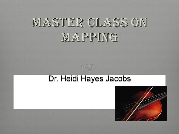 Master class on mapping basic