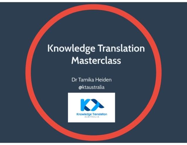 ECU Masterclass slides August 2014
