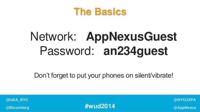 World Usability Day 2014: Engagement (Master Deck) Slide 2