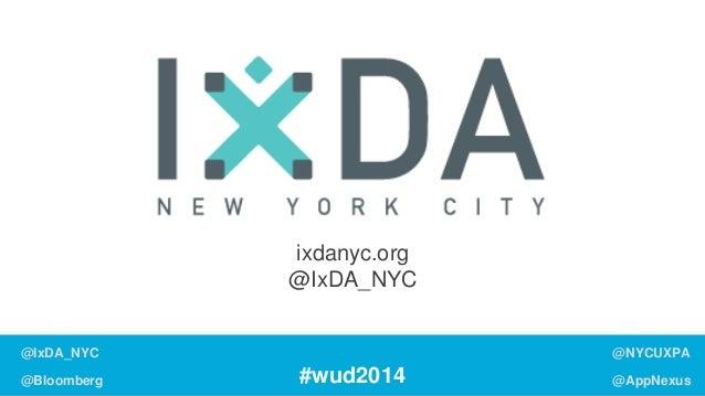 World Usability Day 2014: Engagement (Master Deck) Slide 3